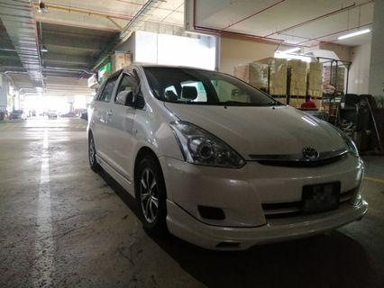 Toyota Wish 1.8A - Z11 (Grab/Gojek/TADA) Ready
