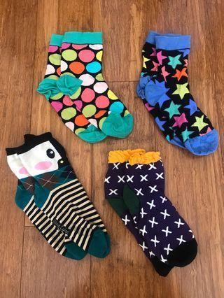 Cute Patterned Socks *$6 for ALL*