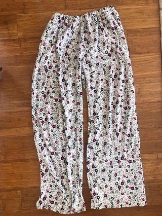 Leopard Fleece PJ Pants