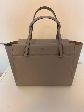 Tory Burch tote in french grey color
