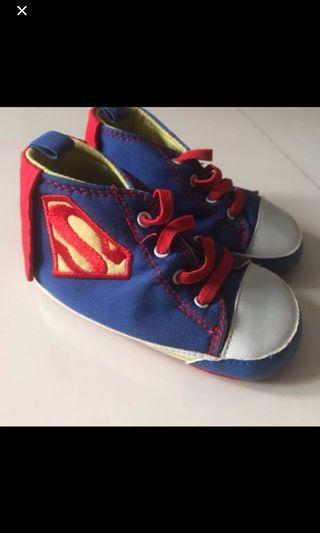 🚚 Superman Baby Shoes