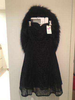 Alannah Hill Black Lace Dress