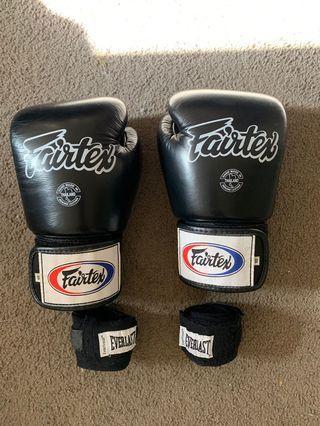 Authentic Fairtex Muay Thai Gloves