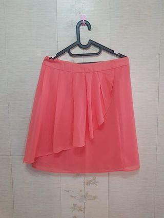 #BAPAU Pink Skirt / Rok Kerja Minimal 💯