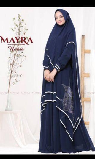 Nerisa syari by mayra ( SOLD VIA SHOPEE)