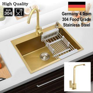 NEW 4mm Extra Thick Gold Sink