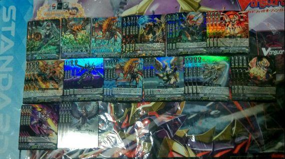 (WTS) Cardfight!! Vanguard V-EB07 Foils