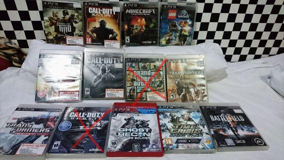 11 Ps3 Games For $55 collect today $40