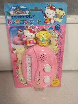 Sanrio Hello Kitty 幼童玩具琴