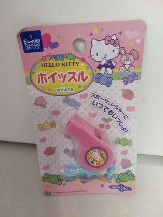 Hello Kitty 玩具哨子