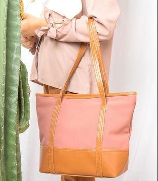 Totebag candy meyla pink mabags