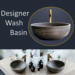 Designer Wash Basin + Tap