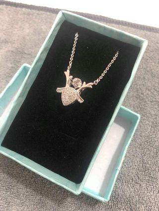 Fawn Crystal Necklace