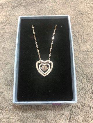 Crystal Necklace (3 way wearing)