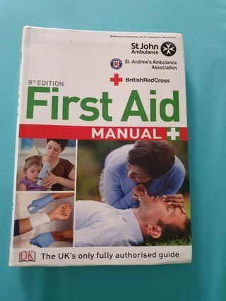SJAB first aid handbook