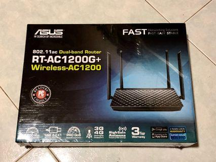 Asus Router RT-AC1200G+ Dual-band Wireless AC1200 Gigabit Router