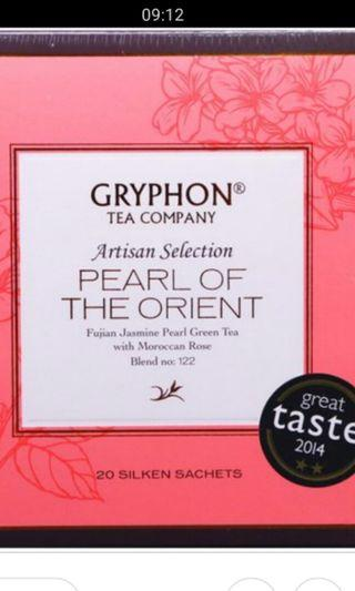In-stock gryphon pearl of the orient tea