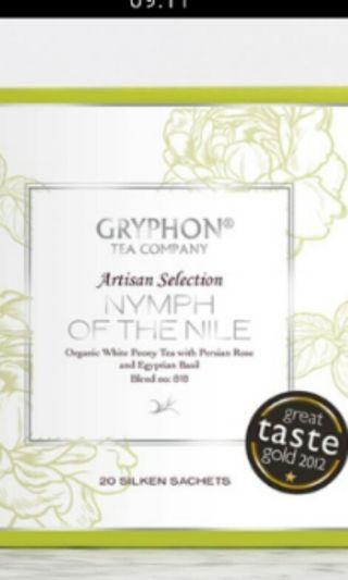 In-stock Gryphon tea nymph of the nile