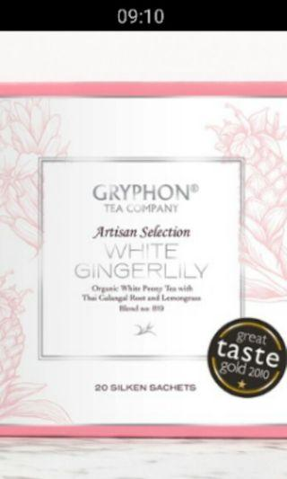 🚚 In-stock gryphon  white  gingerlily  tea