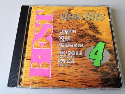 BEST Slow Hits 4 songs CD