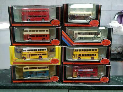kmb 九巴,cmb中巴,citybus城巴 巴士模型
