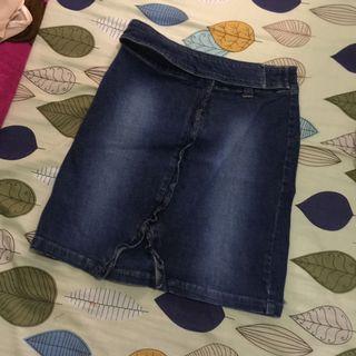 SALE Denim Miniskirt