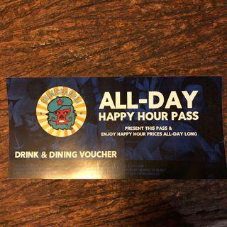 Chimichanga All-Day Happy Hour Pass