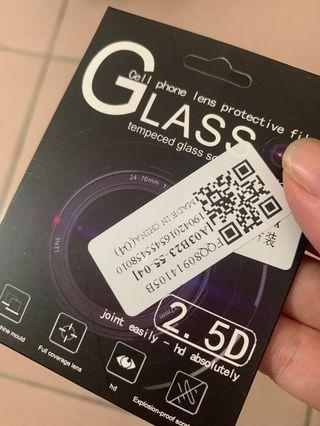 Tempered glass camera protector for iphone xs max
