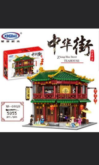 Xingbao xb01021 Chinese street series Toon teahouse corner modular