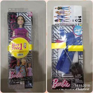 Brand new, original Mattel barbie doll to sell