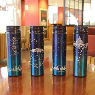 [Preorder] Dreamy Starry night thermos bottle