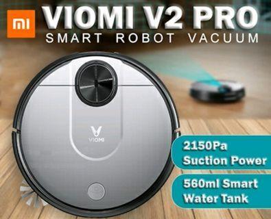 🚚 [Local Warranty] Xiaomi Viomi V2 Pro Robot Vacuum | Smart Water Tank