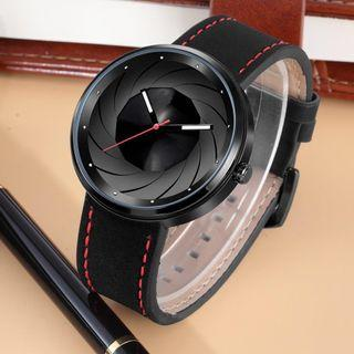 🚚 ⭐️20% Off for few days!! [Original] [Blacks] SERIES 3 Brand New Original High Quality Genuine Leather Fashionable Unisex Watch