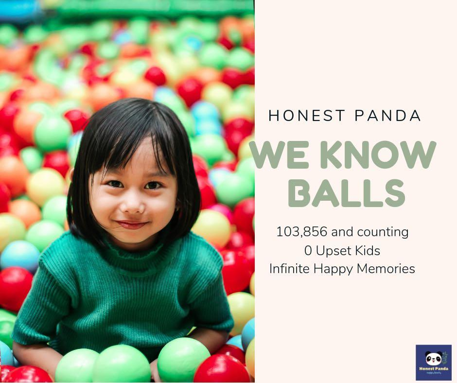 1000 Events Colourful Plastic Balls
