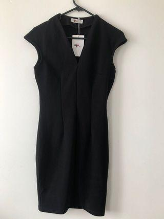 black corporate dress