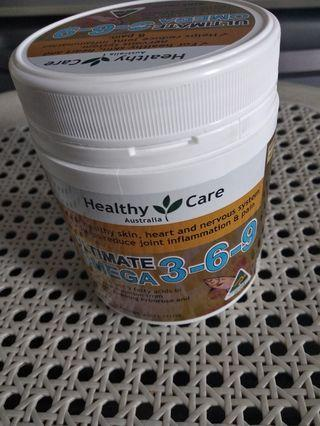 Healthy  Care漁肝油200g