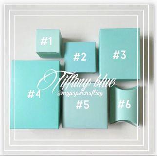🚚 Tiffany blue diy gift box