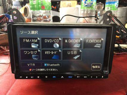 Clarion Japan Audio player NX708