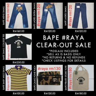 #RAYA LAST CALL CLEAR-OUT 28/05/19 ENDS