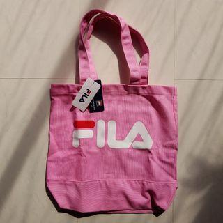 Fila new pink canvas tote bag hypebae