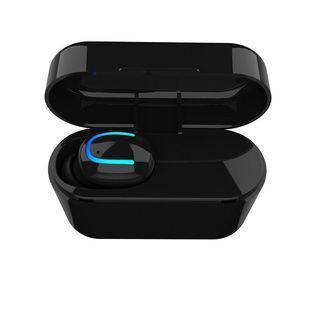 無線單耳運動耳機+充電