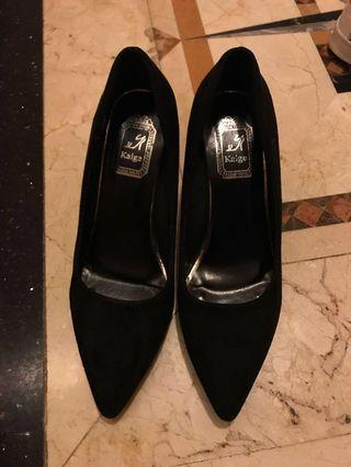 Black high heels  39 黑色高踭鞋39