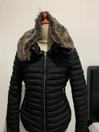 Coat Hitam / Jaket Winter Hitam