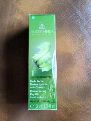 BNIB Algotherm Algo Silhouette Restructuring Dry Oil Stretch mark firming action