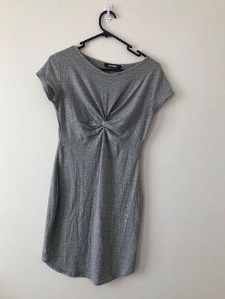 Miss guided grey dress