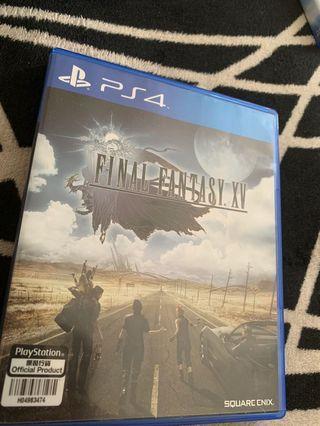 FInal Fantasy XV BD PS4