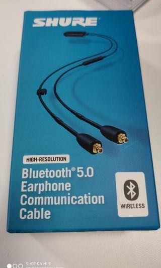 Shure RMCE-BT2 Bluetooth 5.0 Earphone Communication Cable