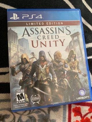 Kaset PS4 Assasin Creed