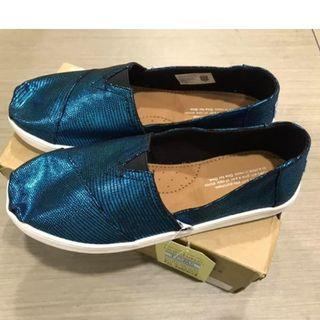 TOMS Classic Peacock Distressed Foil