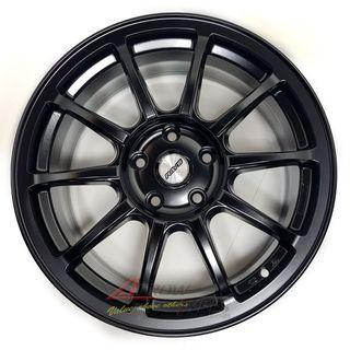 17 inch matt black DM series rims